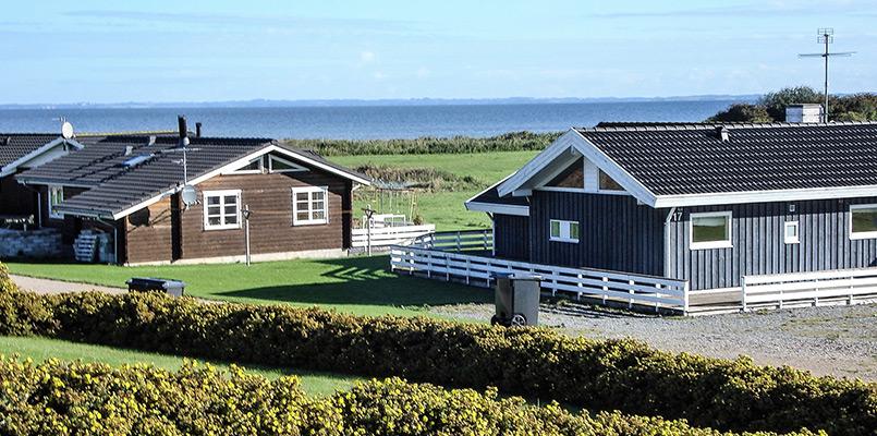 Campingferie i Danmark. Sommerhus ved stranden og hvad det koster.