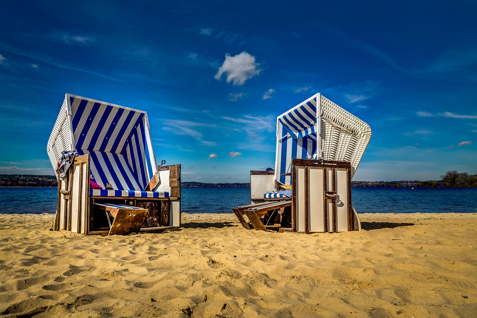 Badeferie i Berlin i Wannsee
