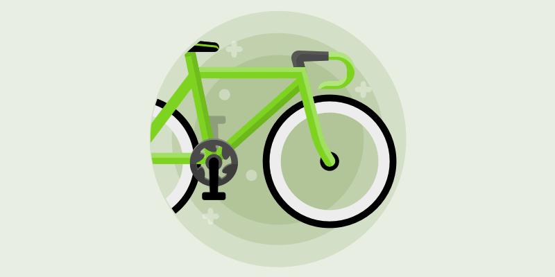 cykel i stedet for bil
