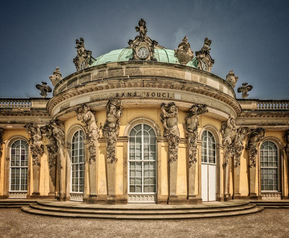 Slot Sanssouci i Berlin