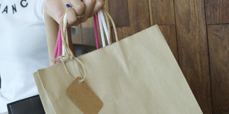 bærepose shopping sko