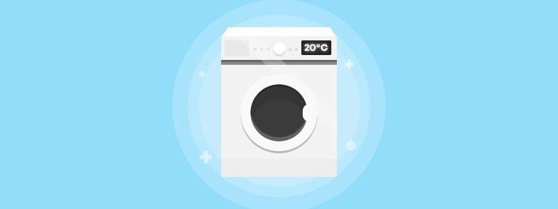 Spar på strømmen vaskemaskine Spiir elsparetips