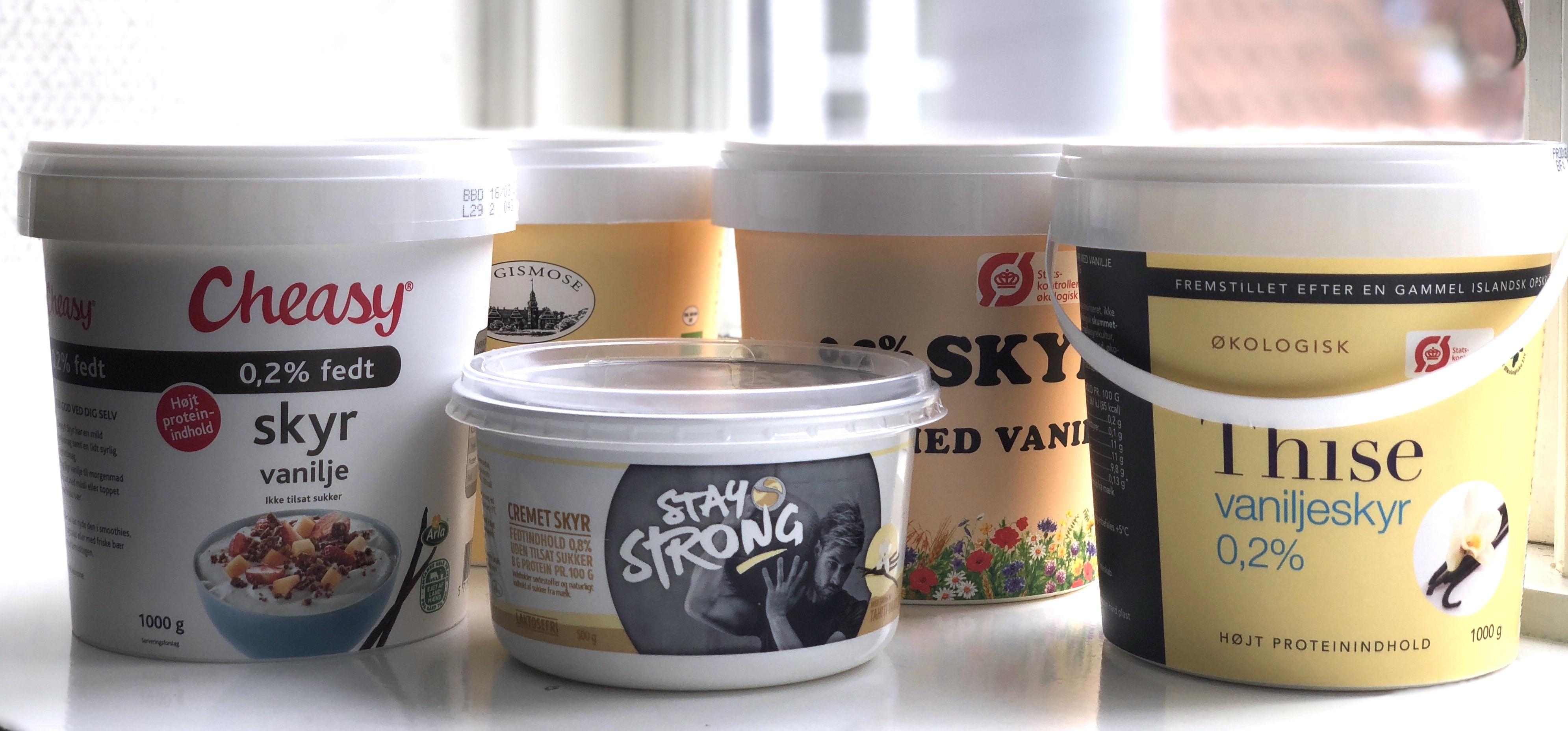 vaniljeskyr smagstest