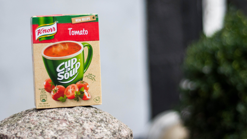 tomatsuppe knoor cup soup