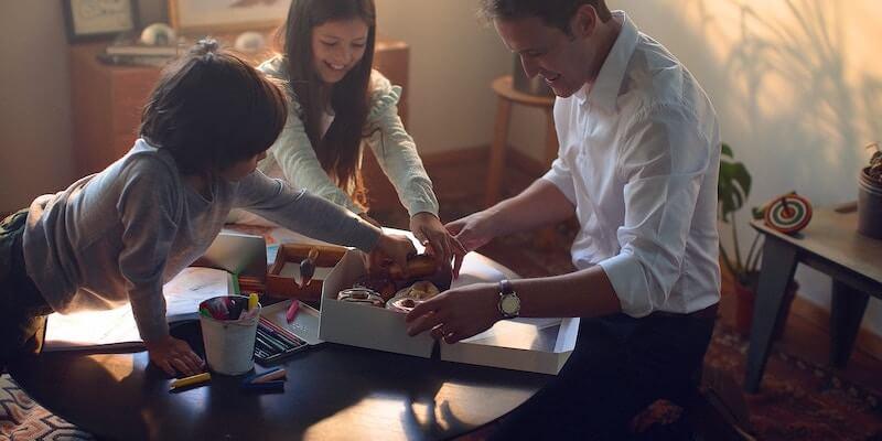 Budget til sammenbragt familie